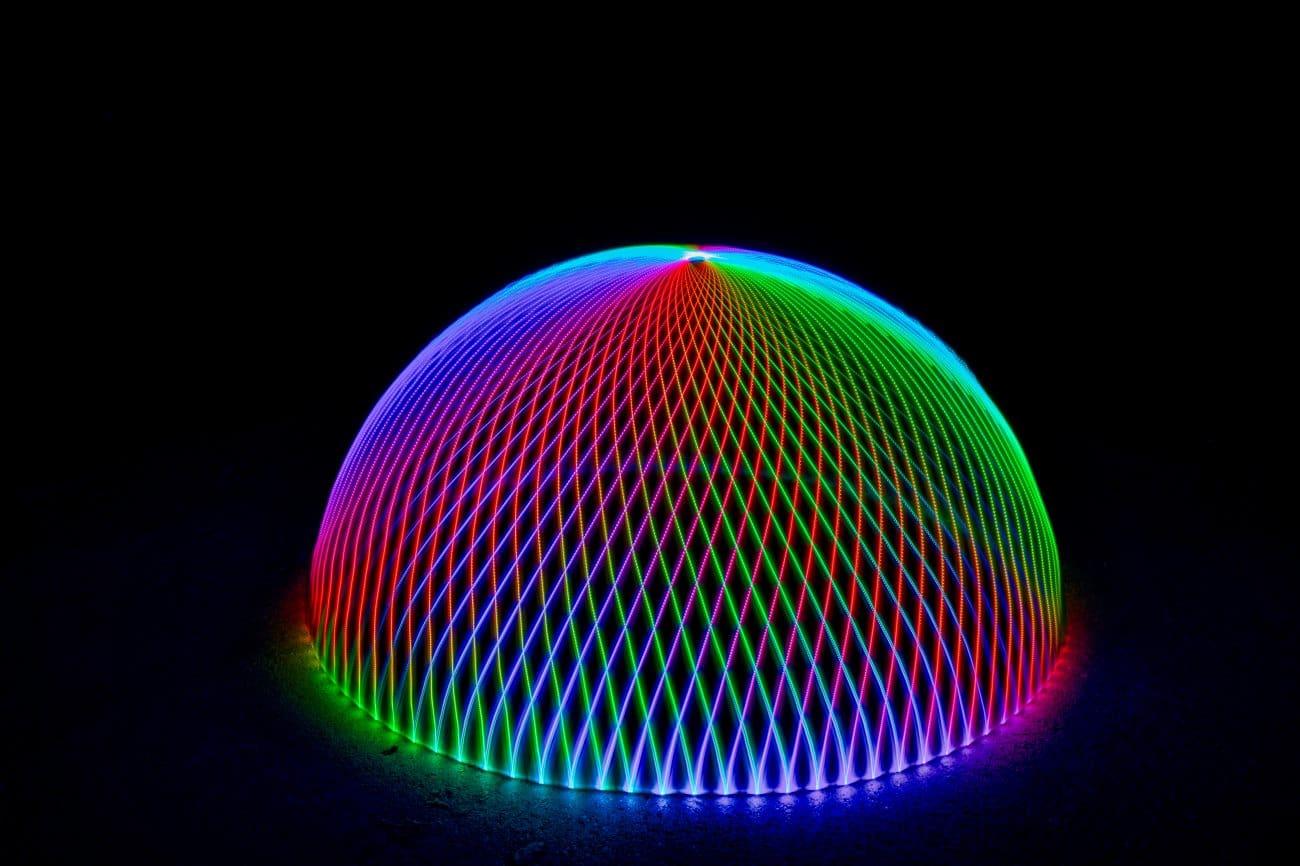 Regenbogen Dome